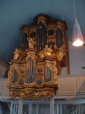 Die Orgel in Cappel